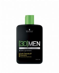 Schwarzkopf 3D Men Anti Dandruff Shampoo 250ml
